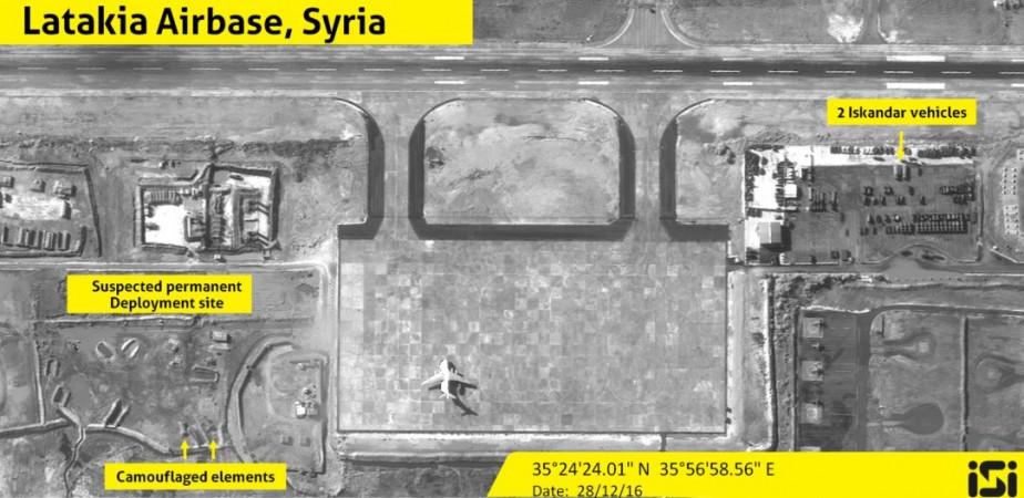 Israeli satellite reveals Iskander missiles