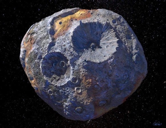Asteroid 16 Psyche