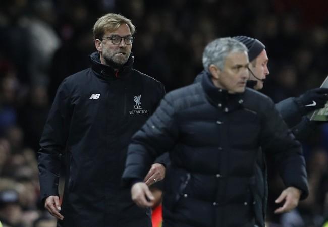 Jurgen Klopp, Jose Mourinho, Liverpool, Manchester United, EPL
