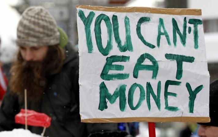 World wealth disparity
