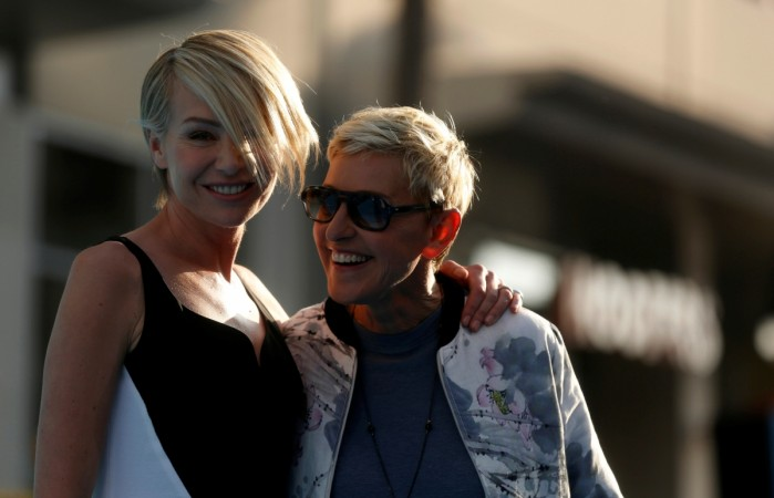 Ellen DeGeneres and her wife Portia de Rossi