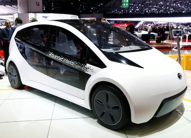 Tata ConnectNext concept car, tata driverless car, Tata autonomous car