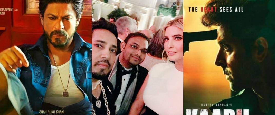 Raees, Shah Rukh Khan, Kabil, Ivanka Trump, Mika Singh