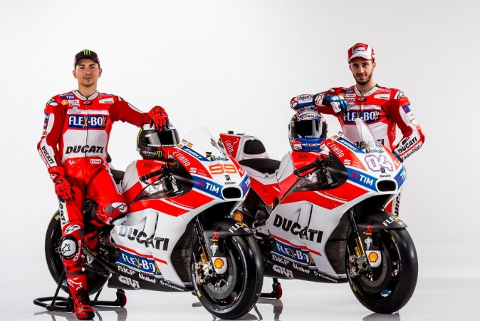 Ducati team for MotoGP 2017