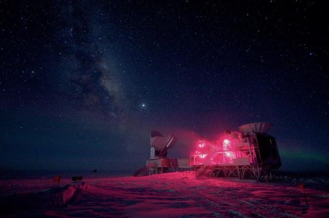 South Pole Telescope (SPT) in Antarctica