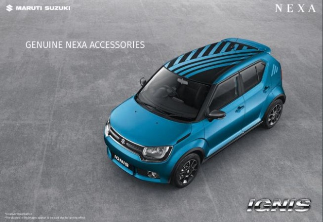 Maruti Suzuki Ignis Accessories Check Out The Details