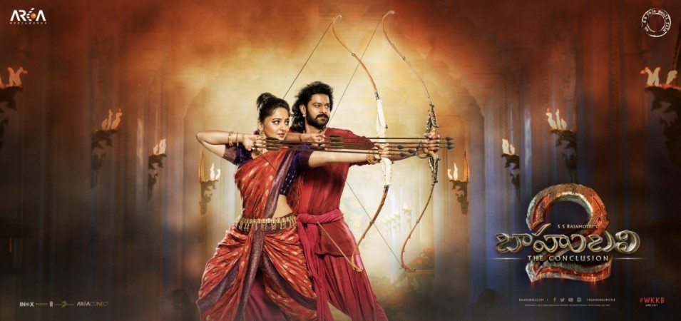 Prabhas and Anushka Shetty's look in Baahubali - The Conclusion
