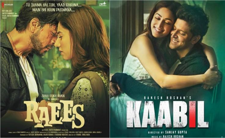 Raees, Kaabil box office: Shah Rukh Khan, Hrithik Roshan movies hold