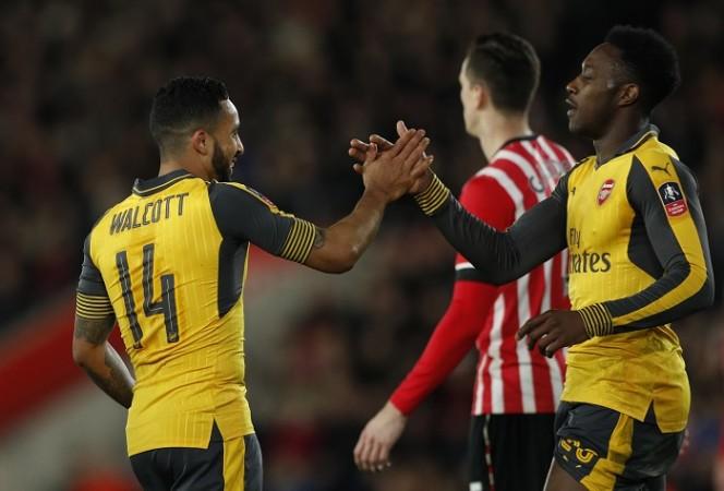 Theo Walcott, Danny Welbeck, Arsenal, Watford, Premier League