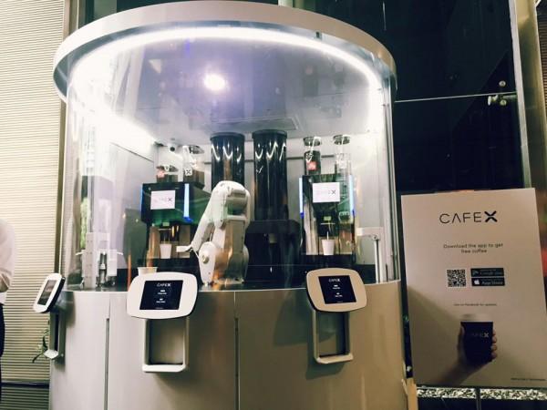 Cafe X in Hong Kong