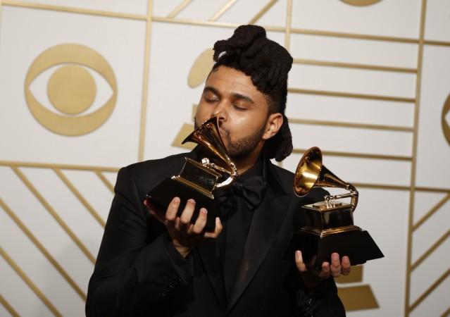 grammys The Weeknd