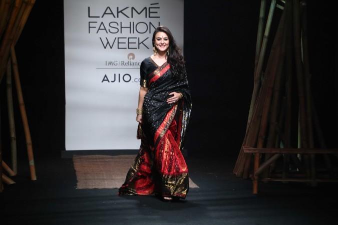 Preity Zinta, Lakme Fashion Week 2017