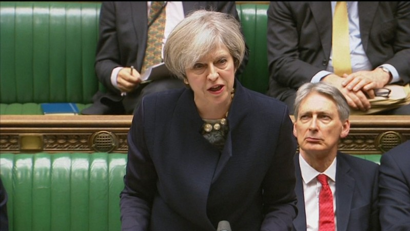 Theresa May tells MPs not to obstruct the will of the people in Article 50 Brexit vote