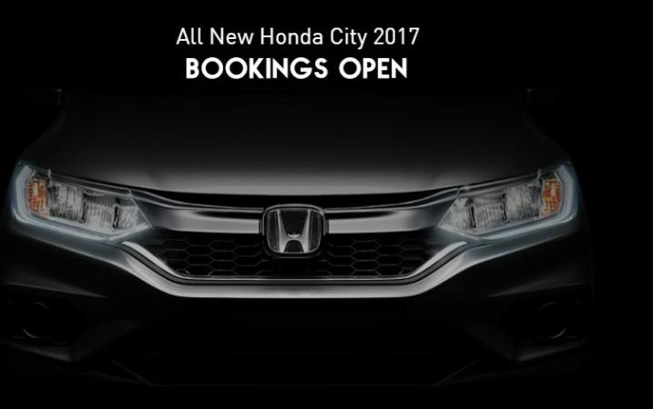 2017 Honda City Facelift, New City, Honda New City, Honda City 2017,