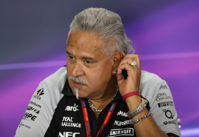 Mallya steps down as Force India director