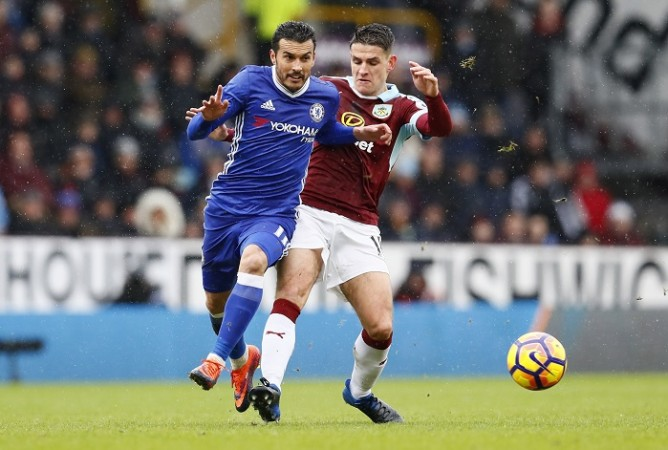 Pedro, Pedro goal, Burnley vs Chelsea, Premier League