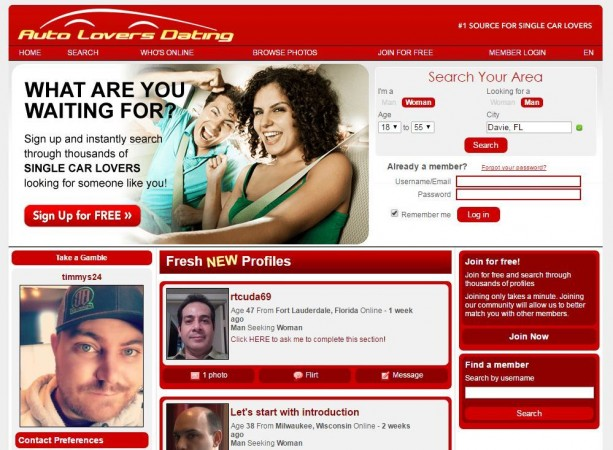 auto dating site