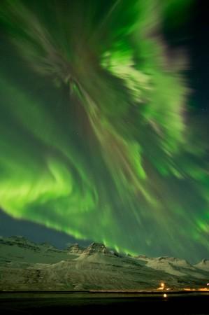 NASA, Aurora, northern lights, Iceland,