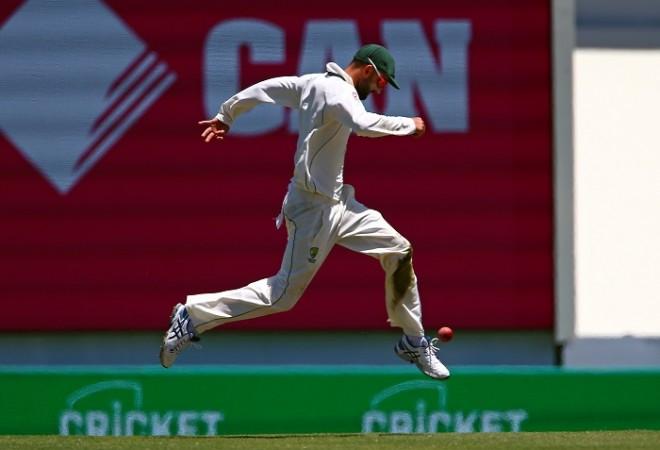 Nathan Lyon, Australia, India, warm-up match, India A vs Australia