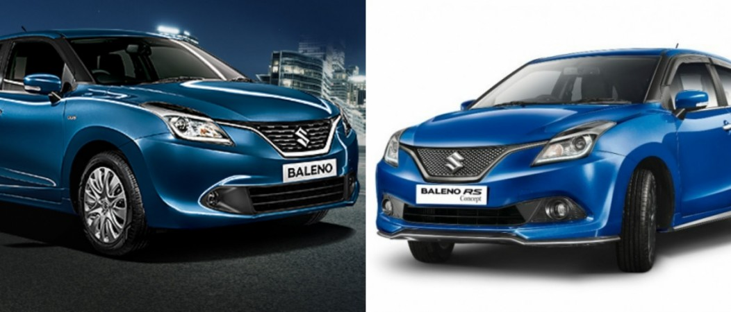 maruti suzuki baleno vs baleno rs here 39 s all you need to know about the nexa siblings ibtimes. Black Bedroom Furniture Sets. Home Design Ideas