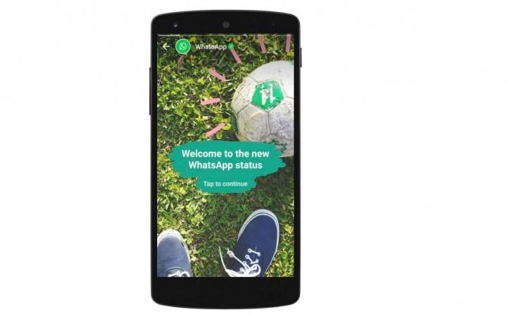 WhatsApp, status update, Snapchat Stories, WhatsApp Status, Video, image, GIFs, share