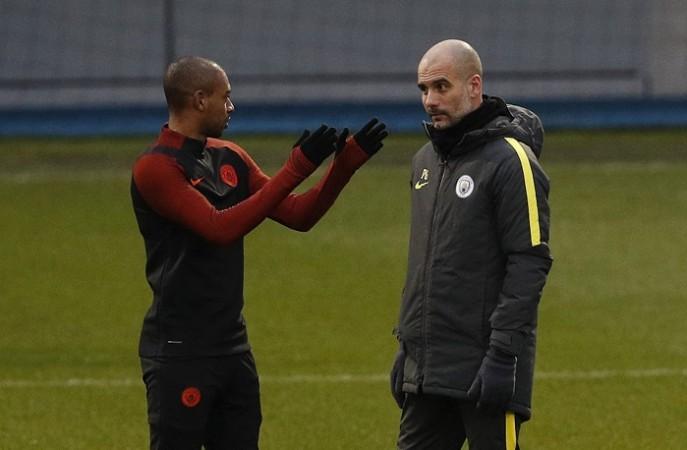 Fernandinho, Pep Guardiola, Manchester City, Monaco, Champions League