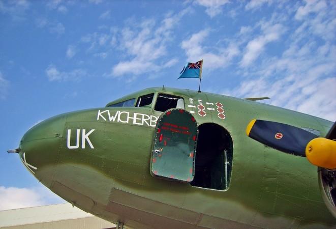 Douglas Dakota, plane, aircraft, world war II, second world war, Ghost plane,