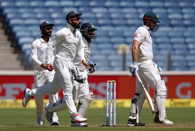 Virat Kohli, India, Shaun Marsh, Australia, 1st Test