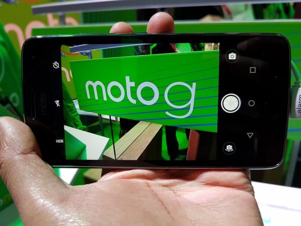 Moto G5, Android Oreo,