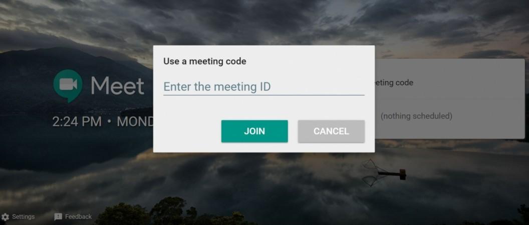 Google Meet, Hangouts-like app for business video