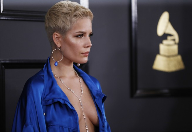 iHeartRadio Music Awards 2017: Halsey covers it up with just a wide