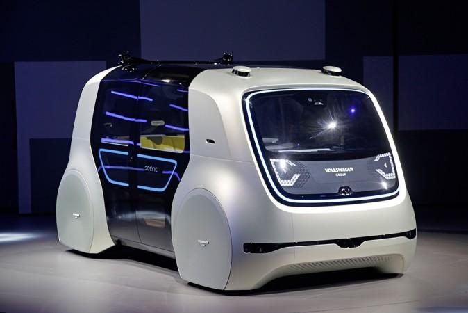 Geneva Motor Show 2017, Volkswagen, VW Sedric, Sedric driverless car
