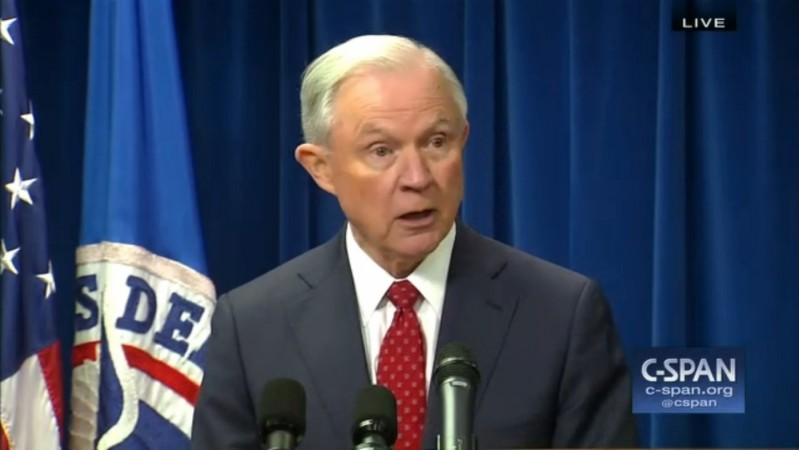 Jeff Sessions On Revised Trump Travel Ban: Terrorists Are Trying To Enter Through Refugee Program