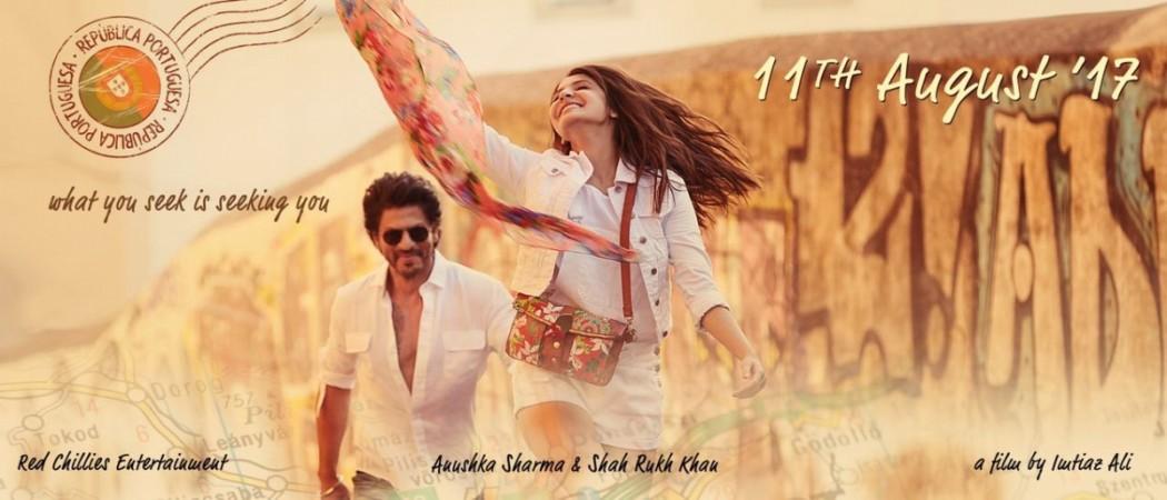 Shah Rukh Khan, Anushka Sharma, The Ring
