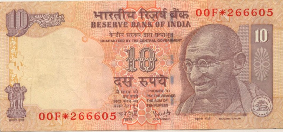 rs 10 note, reserve bank of india, banknotes, security features in notes