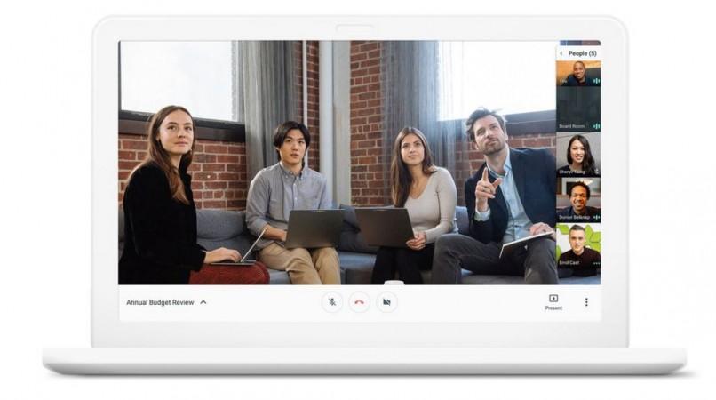 Google, Hangouts Meet, Hangouts Chat, business enterprise, G Suite