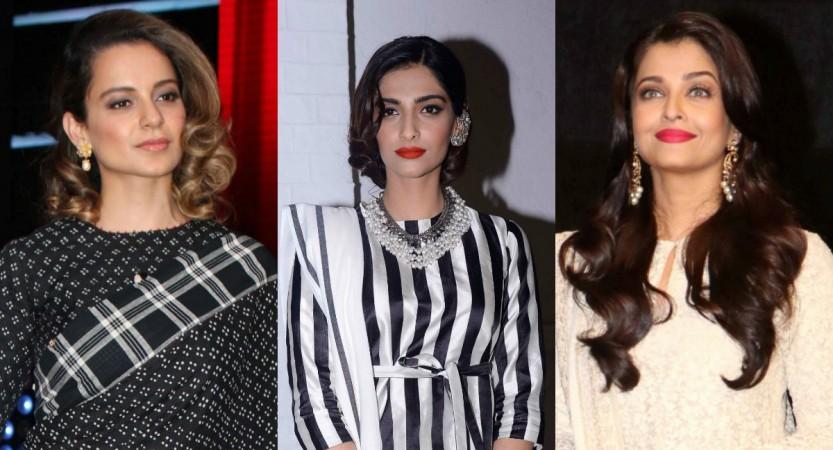 Kangana Ranaut, Sonam Kapoor, Aishwarya Rai Bachchan
