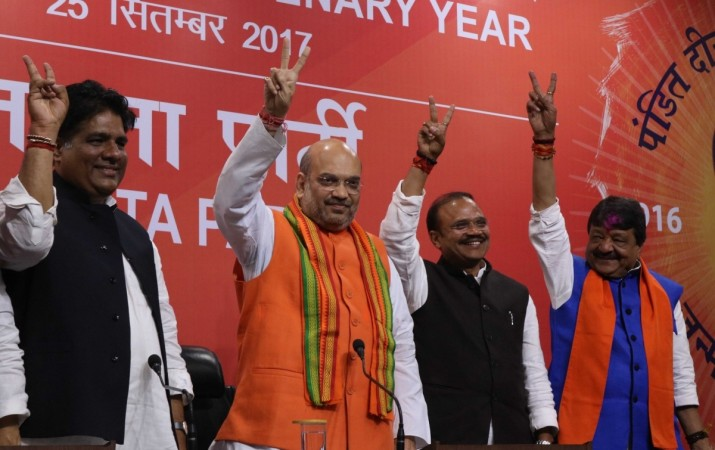 uttar pradesh election results 2017, bjp president amit shah, pm modi, bjp wins uttar pradesh, bjp muslim candidates, politics of appeasement