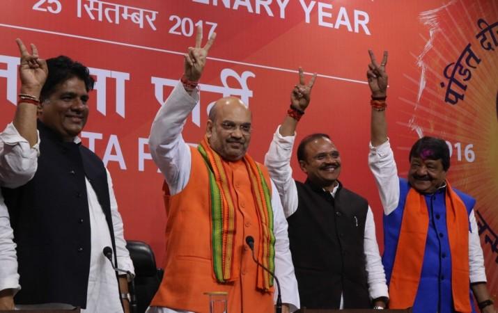 uttar pradesh election results 2017, bjp president amit shah, pm modi, bjp wins uttar pradesh, bjp muslim candidates, politics of appeasement