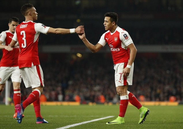 FA Cup, Alexis Sanchez, Arsenal vs Lincoln City, Arsenal, Kieran Gibbs