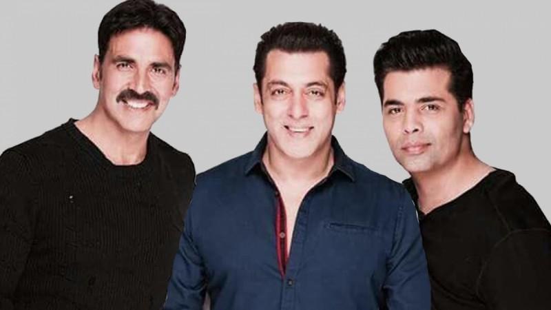 Akshay Kumar, Salman Khan, Karan Johar