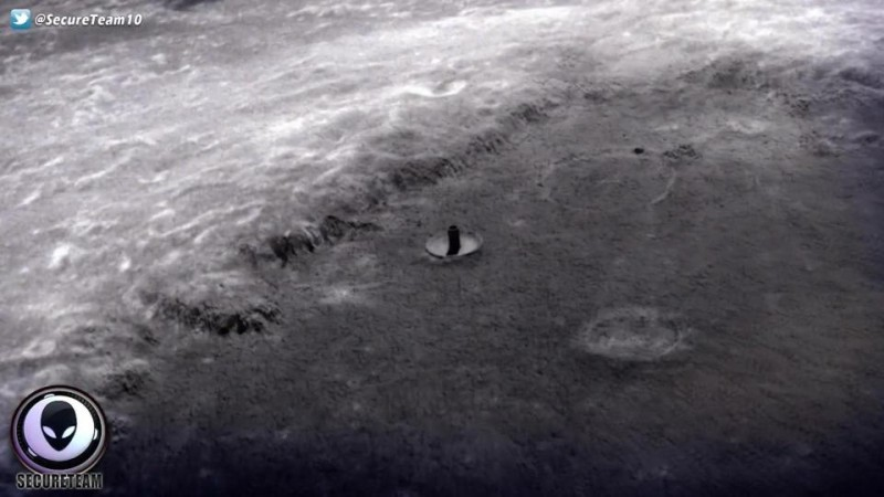 ufo, moon, alien, space, spotted,