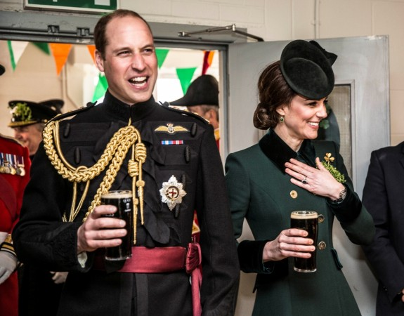 Britain's Prince William and Catherine, the Duchess of Cambridge