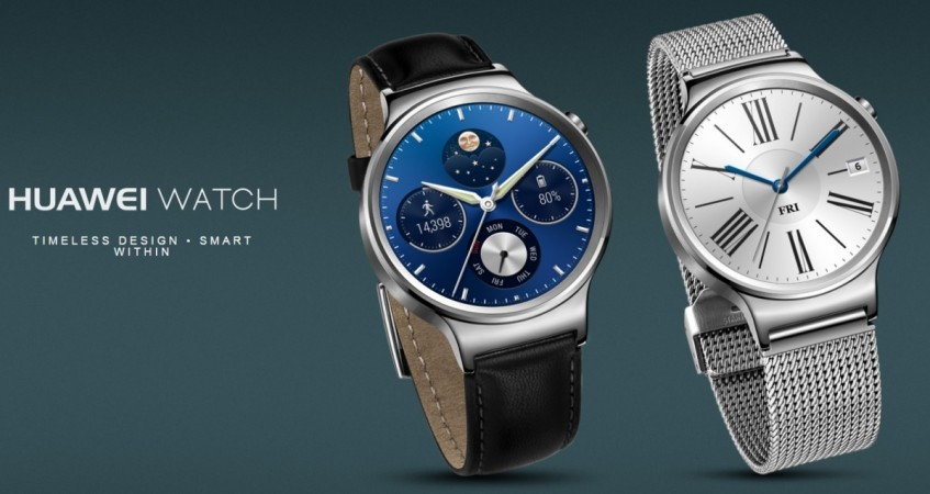 Huawei Watch receives Android Wear 2.0 update