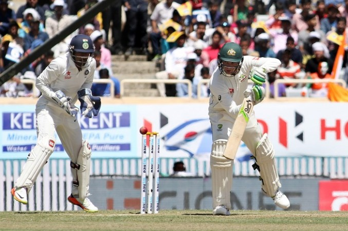 Peter Handscomb, Australia, Wriddhiman Saha, India, third Test