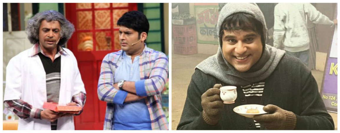 Sunil Grover, Kapil Sharma and Krushna Abhishek