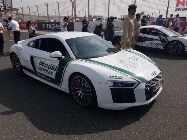 Top 10 insane supercars of UAE Police including Lykan