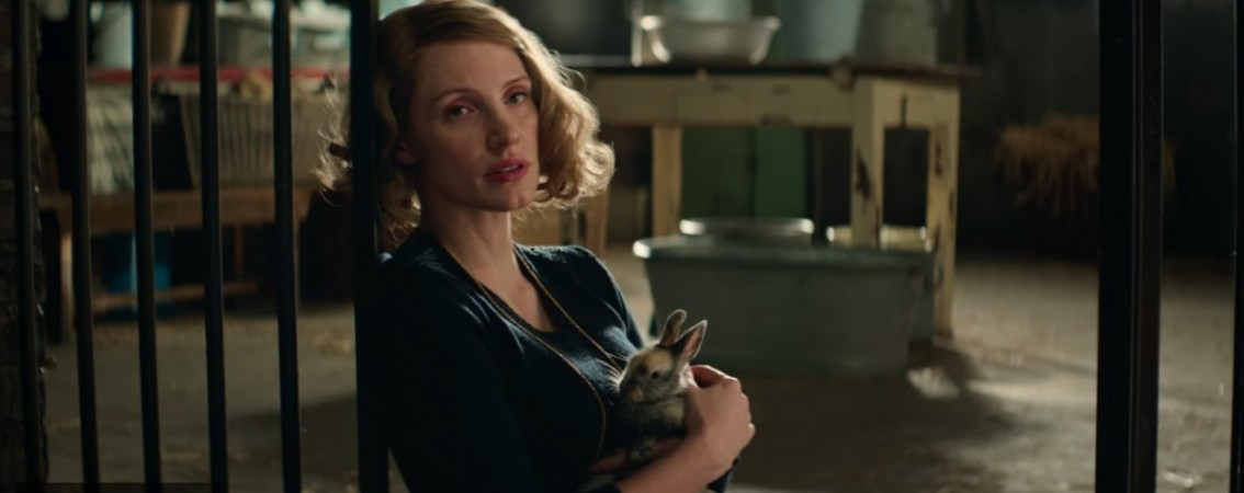 Jessica Chastain in The Zookeeper's Wife