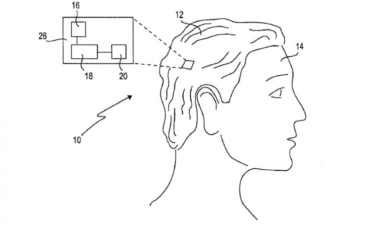 Sony's patent called