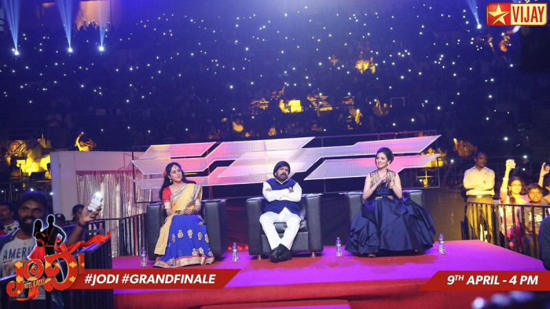 Vijay TV's Jodi 9 grand finale: Mani-Felina win the trophy